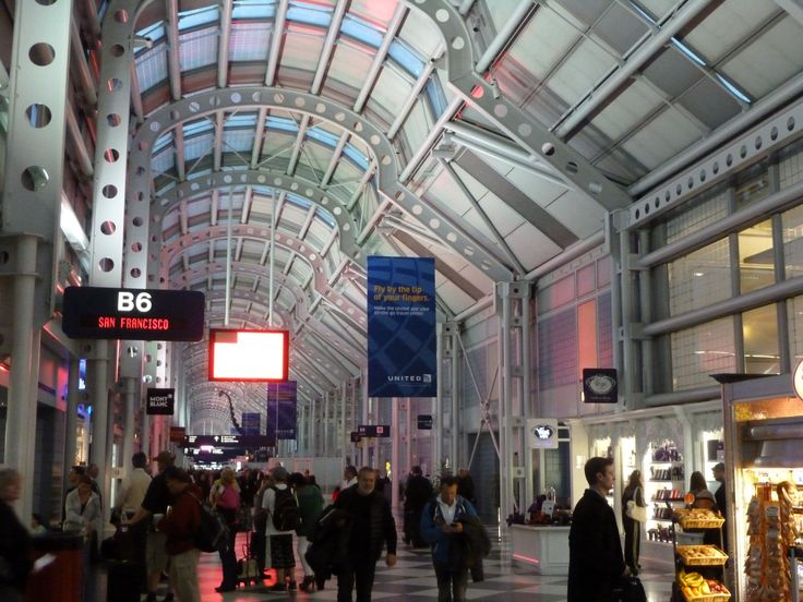 O'Hare Airport in Chicago, what to expect and find in this major transit center.  www.traveladept.com