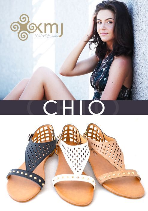 Chio is made for the inspired traveler. Easy to wear with many fashion moments.  www.kmjshoes.com.au for stockists throughout Australia.