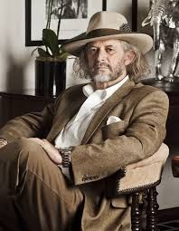 Patrick Mavros - 4th generation Zimamwan, his grandfather arrived in then Rhodesia in 1902 and made roots there. Patrick Mavros is now thriving with his silver jewellery, especially when Kate Middleton the Duchess of Cambridge wears his creations