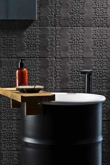 Mutina ceramiche & design   Bas-relief - Patricia Uriquiola - Revestimientos y pavimentos para el baño