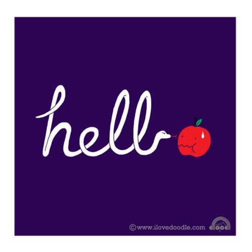 :): Hello, Art Doodles, Flickrdoodl Everyday, Love Doodles, Whimsical Illustration, Flickr Doodles Everyday
