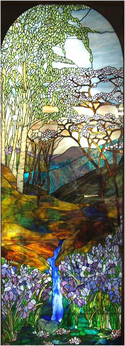 1000+ images about Louis Comfort Tiffany Stained Glass Windows on ...