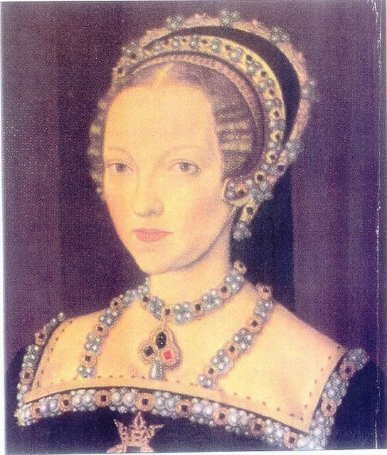 La reina Catherine Parr, sexta esposa de del rey Enrique VIII de Inglaterra.