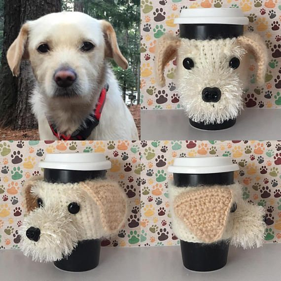27ae13ca50413 Personalized Dog Mug Cozy, Dog Parent Gift | Custom Dog Gifts | Dog ...