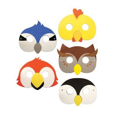 Vogel maskers / Oiseaux masques