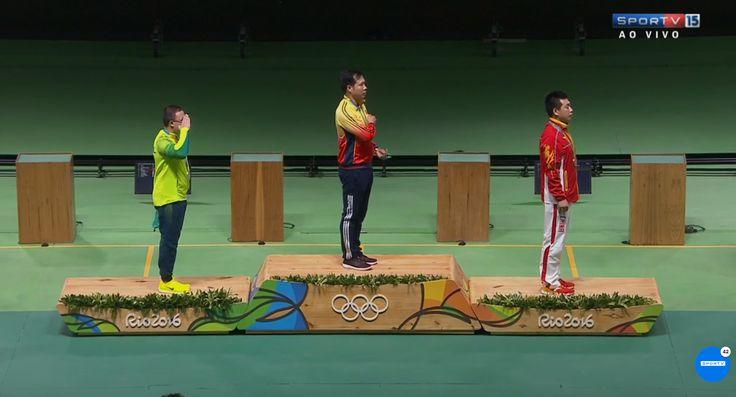 Sejam bem-vindas, medalhas! Felipe Wu é prata no tiro esportivo! #globoesporte