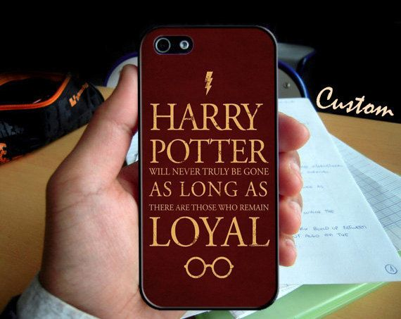 Hogwarts Harry Potter Quotes for iPhone 4 case, iPhone 5 case and Samsung Galaxy s3 case