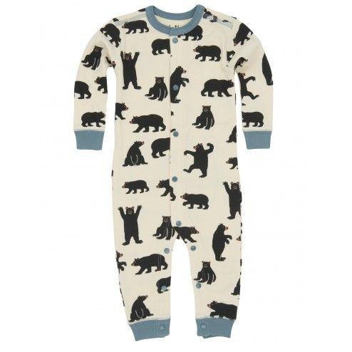 Blue Quot A Little Bear Bum Quot Infant Union Suit Thanks For The