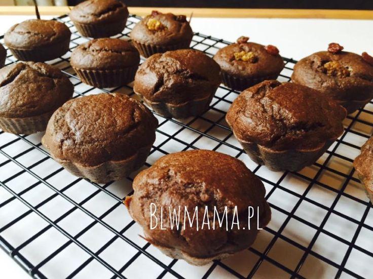 Te perfekcyjne puchate muffinki powstały tylko dzięki mojemu lenistwu ;-) Zatem muszę sobie częściej...