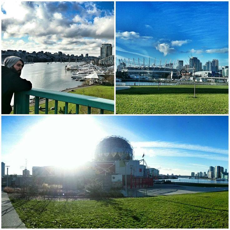 Sience World, Cambie St Bridge, Stadium Vancouver