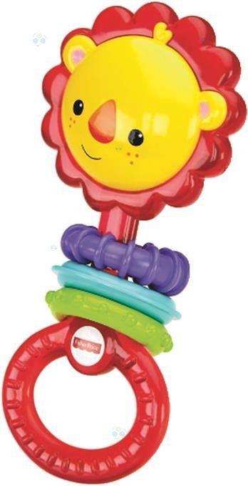 Fisher Price Grzechotka Lew * - Pierwsze zabawki - Artykuły dla niemowląt