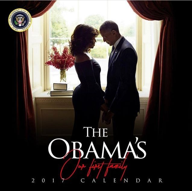 The Obama's First Family 2017 #Calendar (Anyone Interested Go On Line Google) #44th #President #POTUS Of The United States Of America #CommanderInChief #BarackObama #FirstLady #FLOTUS Of The United States Of America #MichelleObama #Farewell #2017Calendar #Calendar #2017 #FirstFamily #Obamas #Obama