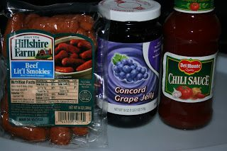 A Year of Slow Cooking: Slow Cooker Little Smokies Appetizer Recipe(s)