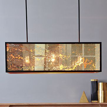 Panorama Chandelier #WestElm This is going in our dining room! I even got it on sale. :)