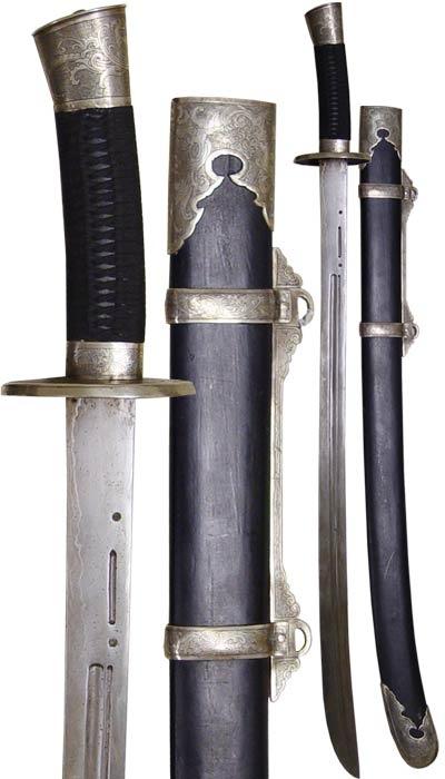 willow leaf saber sword
