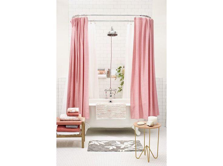 Oltre 25 fantastiche idee su bagno con tenda su pinterest bagno doccia supporto per doccia e - Tenda per vasca da bagno ...