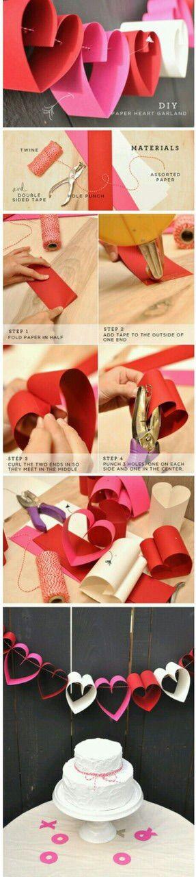 Image via We Heart It https://weheartit.com/entry/156061357 #decor #diy #hearts #Paper #Valentine'sDay