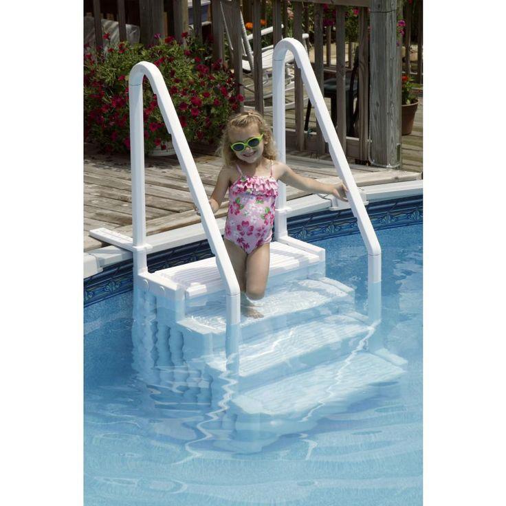 Ne113 easy pool step above ground pool