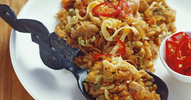Create authentic nasi goreng with this easy recipe.