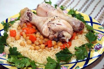куриный кускус, кускус с курицей, способ приготовления кускуса