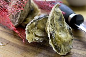 Shucking (or opening) oysters is a snap once you get the hang of it - see how easy it can be with this step-by-step photo guide to shucking oysters.