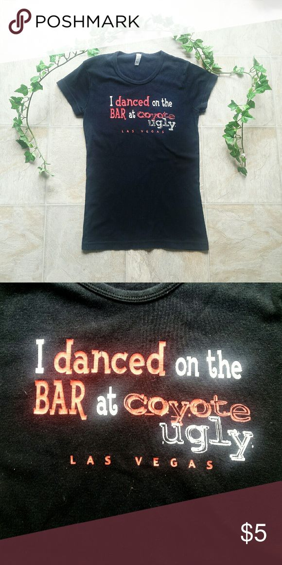 Coyote Ugly T-shirt Tee from Coyote Ugly in Las Vegas. In great condition! Size medium, though fits more like a small. Tops Tees - Short Sleeve