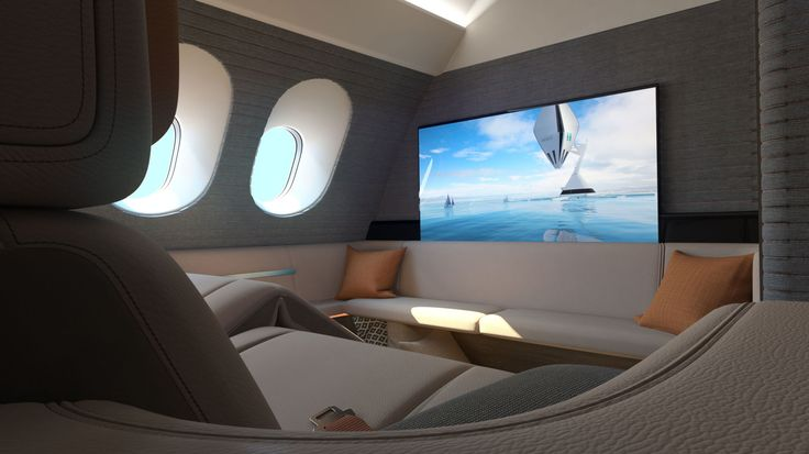 Business Class Travelers Could Soon Fly In A Hotel Room