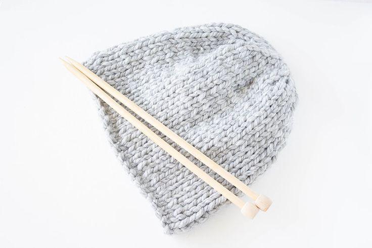 ars textura: * 23 * Last Minute Geschenke - Super schnell eine Mütze stricken