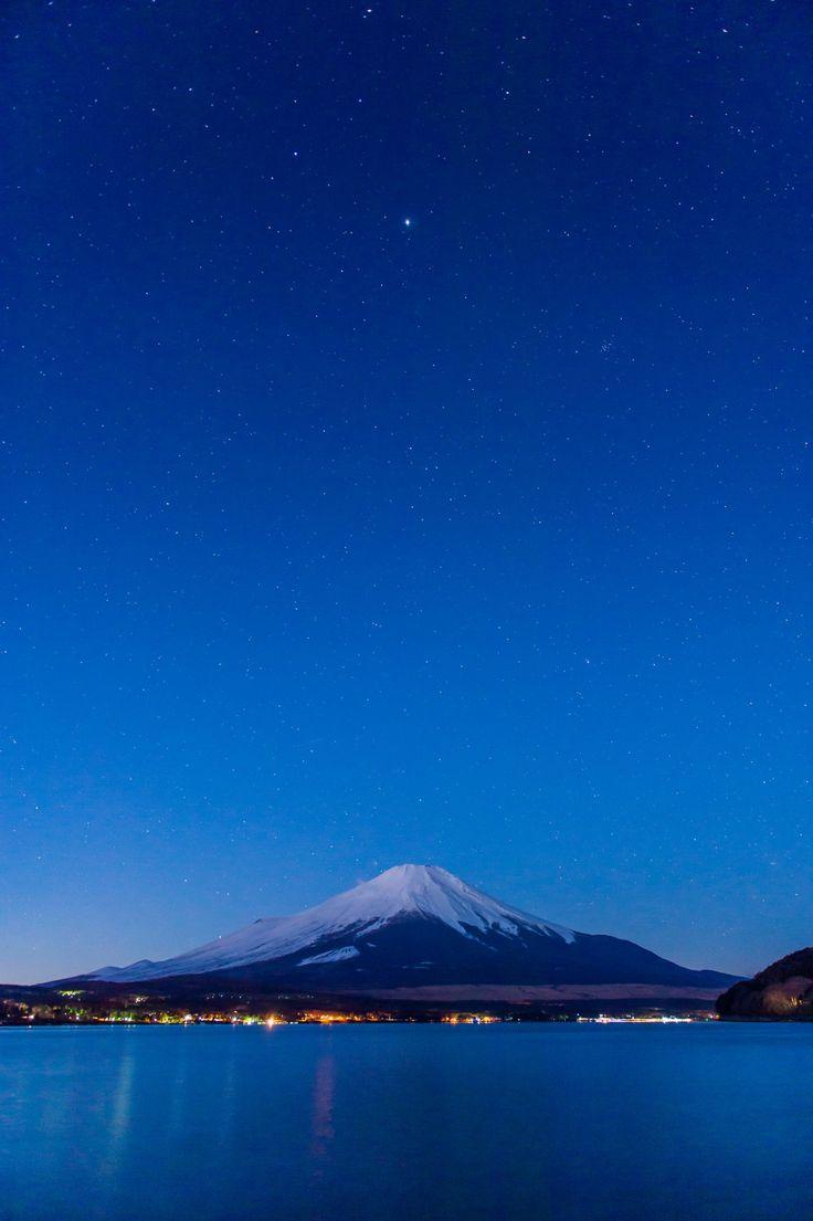 """""""New moon Mt. Fuji """""""