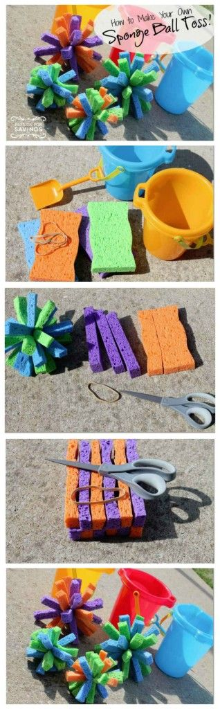 How to Make Super Soaker Sponge Bombs.