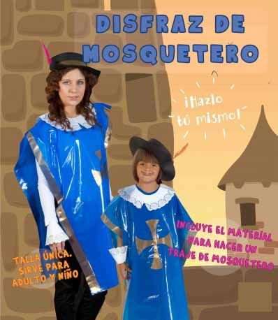 86 best disfraces caseros images on pinterest children costumes costume ideas and baby costumes - Disfraz casero mosquetero ...