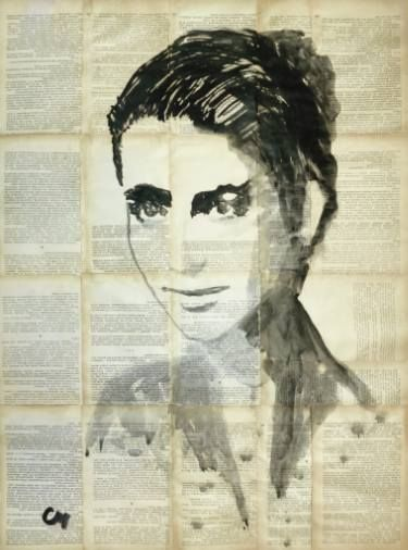"Saatchi Art Artist Marat Cherny; Painting, ""Portrait."" #art"