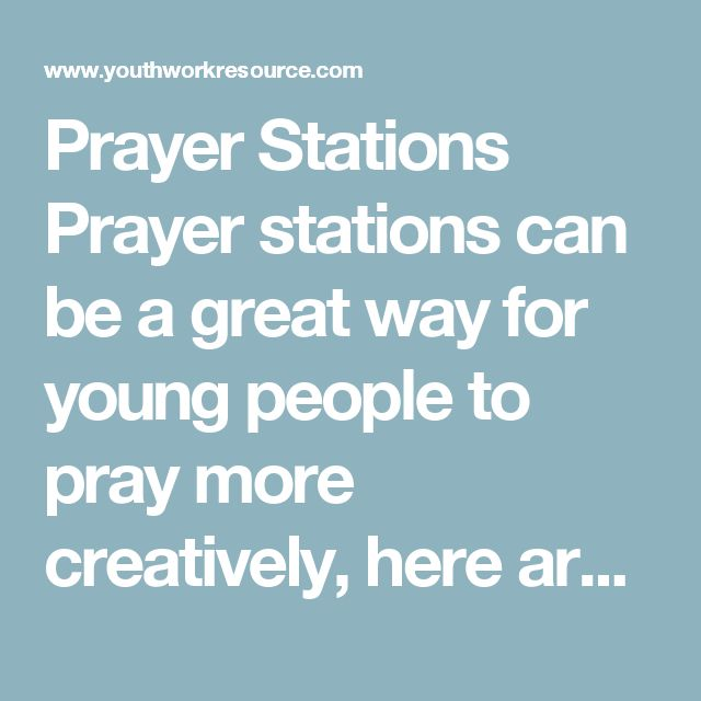 Prayer Stations  Prayer stations can be a great way for young people to pray more creatively, here are some ideas of stations focusing on God's provision however the possibilities for prayer stations are endless!  Suitable For Ages 11 upwards  Required: candles, paper, pens, a wooden cross, post-its and any other materials you may wish to use  Extra Files Needed (i.e. worksheets etc): Prayer Station Bible Verse – click to download  Prayer & Reflection We're going to spend the next ten…
