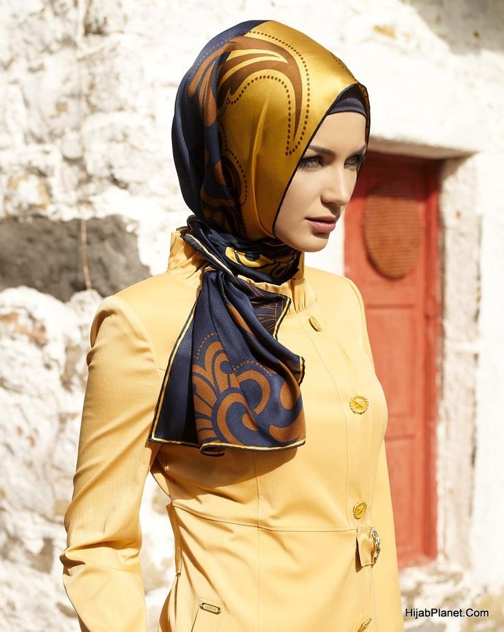 HijabPlanet.Com - Armine Tayyibah Silk Hijab
