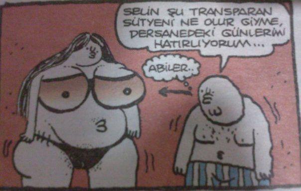 Abiler - Komik Karikatürler, Yiğit Özgür Karikatürleri, Fırat Karikatürleri, Uykusuz, Penguen,Leman