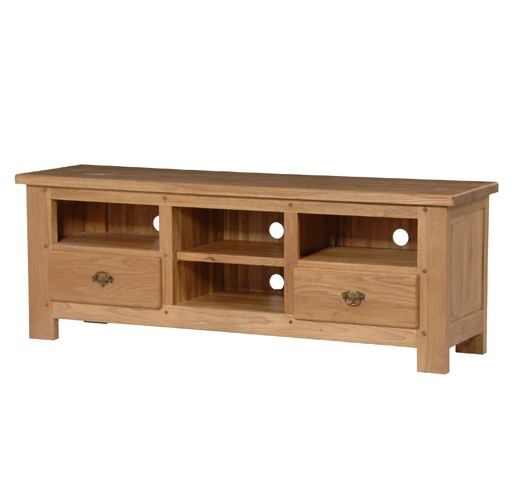 Normanday Oak TV Cabinet