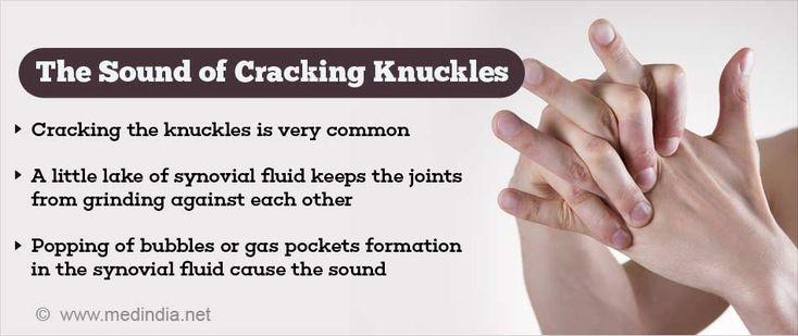 Knuckle-cracking Sound Explained   health information