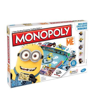 Hasbro Despicable Me 2 Monopoly available to buy at Harrods. Shop children's toys online & earn reward points.