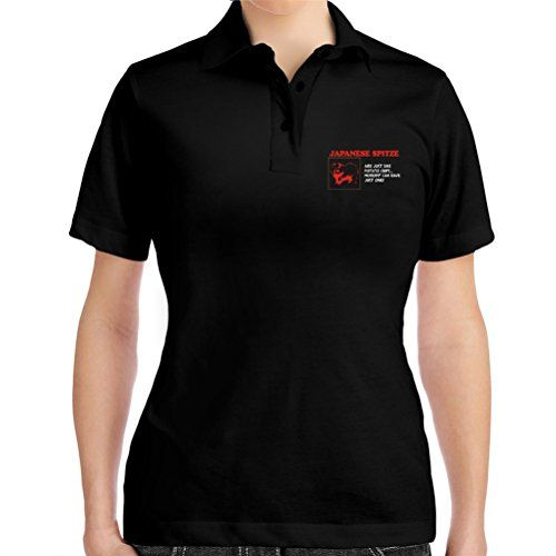 Japanese Spitz are just like potato chips Women Polo Shirt -- ON SALE Check it Out