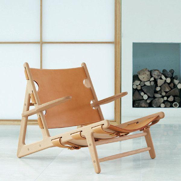 Børge Mogensen Hunting Chair - www.danishdesignstore.com/products/borge-mogensen-hunting-chair