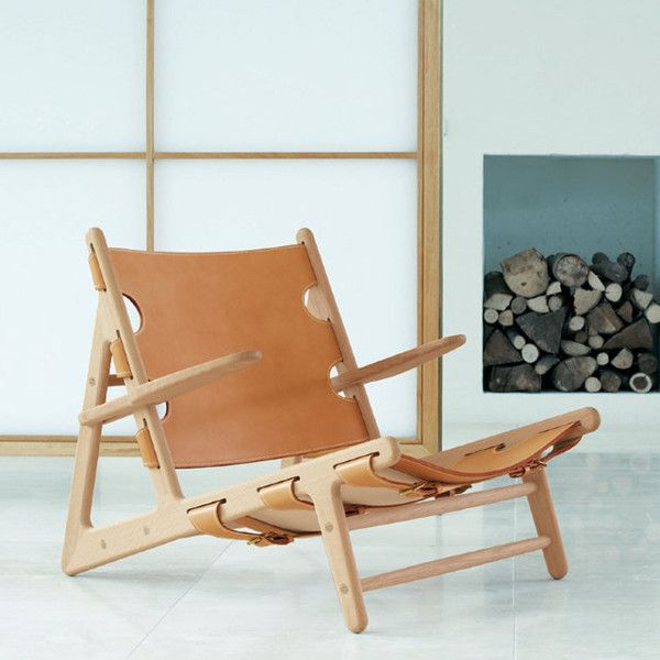 Børge Mogensen Hunting Chair - www.danishdesignstore.com/products/borge-mogensen-hunting-chair