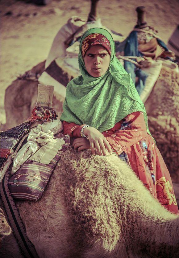 Bedouin Girl from the Egyptian Desert
