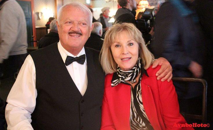 Hr- Bolt & Susse Wold v. åbningen af Korsbæk på Bakken