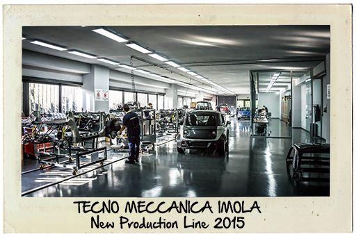 Tecno Meccanica Imola - New Production Line - 2015 WWW.TAZZARI-ZERO.COM #TAZZARI #ZERO #EM1 #TAZZARIEV #ELECTRICCAR #ZEROEMISSION #DESIGN #LUXURY #ELEKTROAUTO #COCHEELECTRICO #VOITUREELECTRIQUE #CARROELETRICO #ELEKTRISCHEAUTO #ELEKTRIKLIARABA #ZZ #IMOLA #MADEINITALY #AUTOELETTRICA #EV