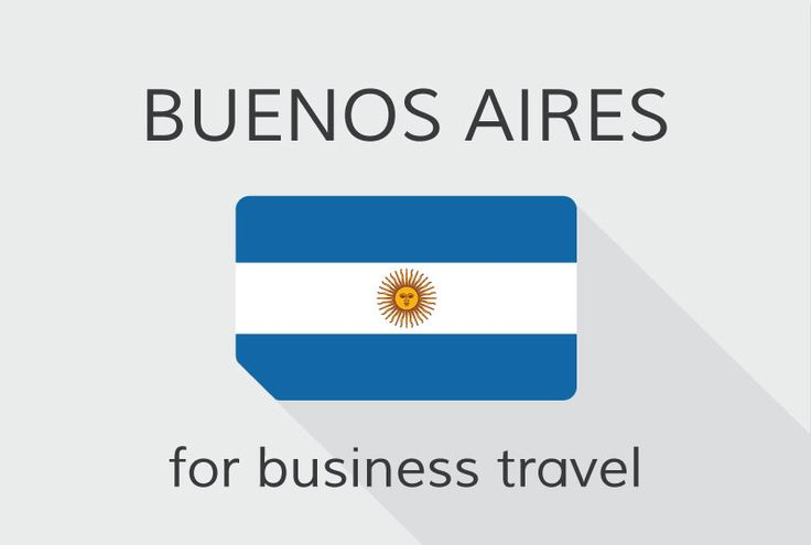 #BuenosAires - one of the biggest business travel cities on the southern hemisphere