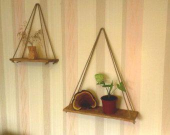 Repisa estante de madera estante de madera por MakersEyes en Etsy