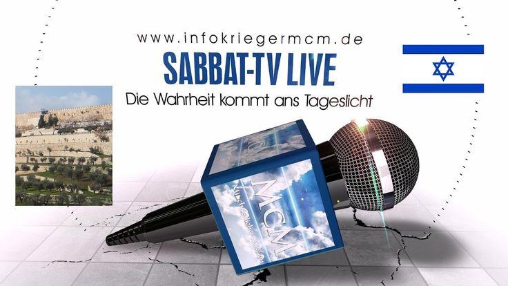 Sabbat-TV LIVE [6] ➤ Das Zeugnis von Dominik | Eindrücke von Israel