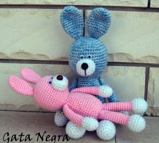 Hare amigurumi - Knitting, Crochet, Dıy, Craft, Free Patterns - Knitting, Crochet, Dıy, Craft, Free Patterns