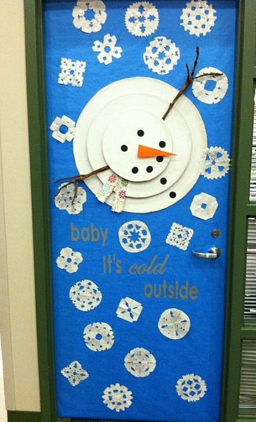 33 amazing classroom doors for winter and the holidays christmas rh pinterest com Crazy Christmas Door Decorating Ideas Christmas Designs for the Classroom Door
