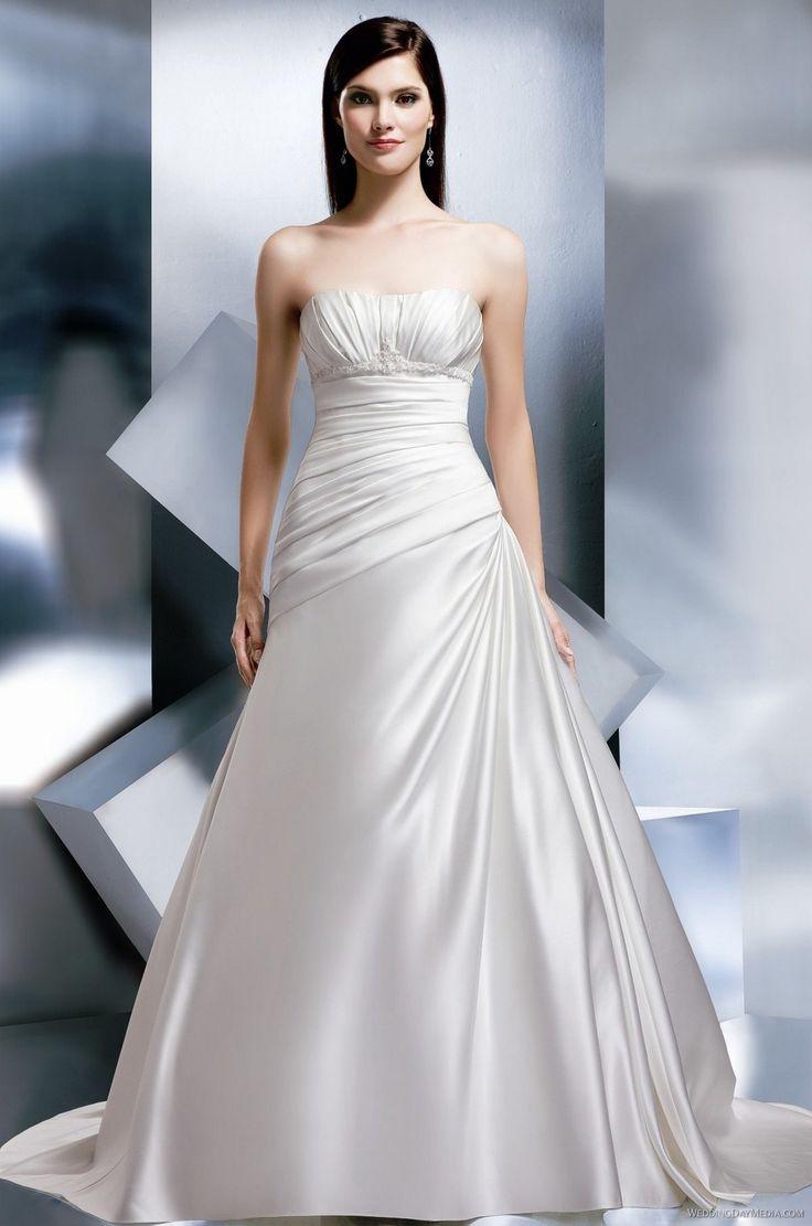 D'Zage - D3981 - 2012 $290.99 #wedding #mywedding #bridalgown #2012 #weddingdress #d'zage #bridal #d3981